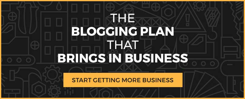 Get Your Blogging Plan That Brings in Business