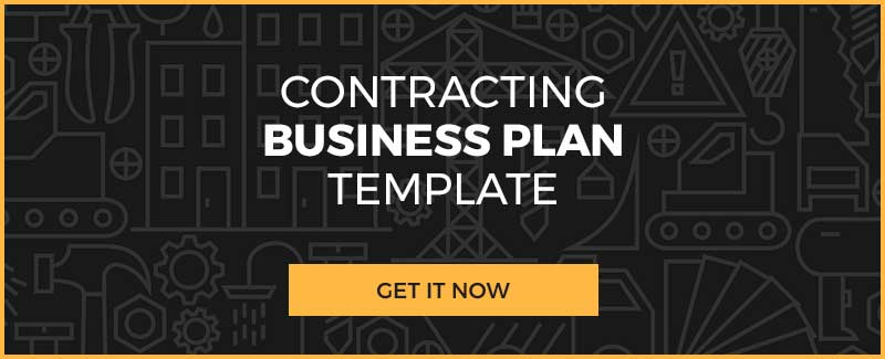Get Your Contracting Business Plan Template