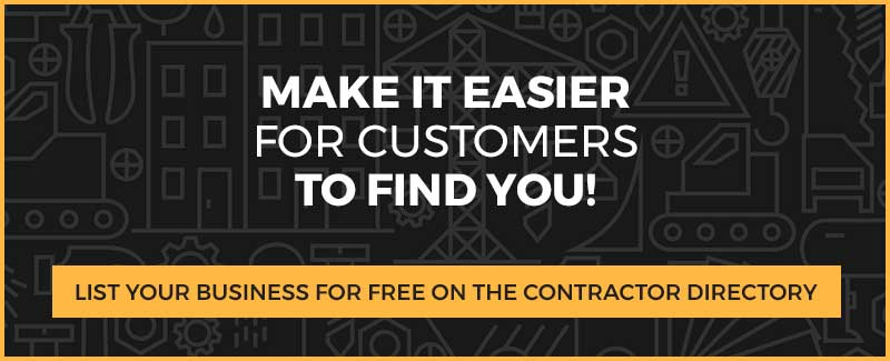 List Your Contractor Business in the Contractor Hub Directory